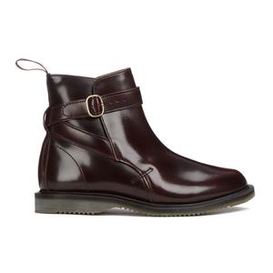Dr. Martens Women's Kensington Teresa Arcadia Leather Jodphur Boots - Cherry Red