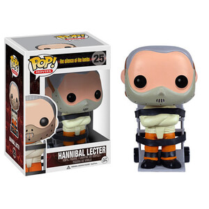 Silence of the Lambs Hannibal Lecter Funko Pop! Figur