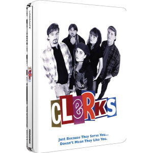 Clerks - Zavvi UK Exclusive Limited Edition Steelbook (Ultra Limited Print Run)