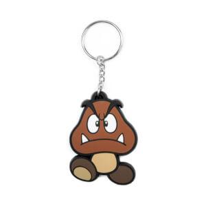 Goomba - Rubber Keychain