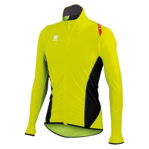 Sportful Fiandre Light No Rain Jersey - Yellow Fluo/Black