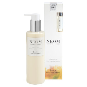 NEOM Organics Great Day -käsi- ja vartalovoide (250ml)