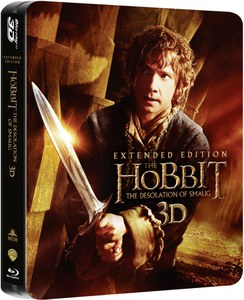 The Hobbit: The Desolation of Smaug 3D - Extended Limited Edition Steelbook
