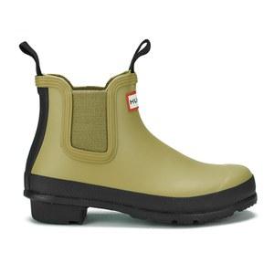 Hunter Women's Original Two Tone Chelsea Boots - Light Olive