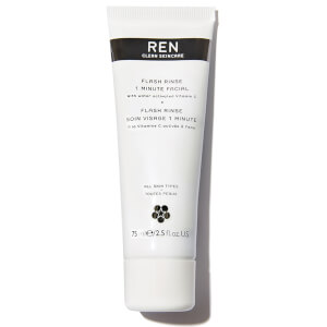 REN Clean Skincare Flash Rinse 1 Minute Facial 75ml