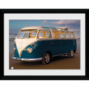 VW (Brendan Ray) Blue Kombi - 30x40 Collector Prints