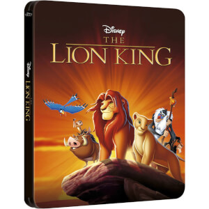 The Lion King 3D - Zavvi UK Exclusive Limited Edition Steelbook (The Disney Collection #26) (Includes 2D Version)