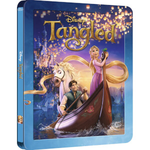 Tangled 3D - Zavvi UK Exclusive Limited Edition Steelbook (The Disney Collection #28) (Includes 2D Version)