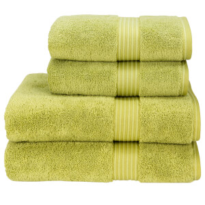 Christy Supreme Hygro Towels - Green Tea