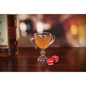 Trophy Shot Glass