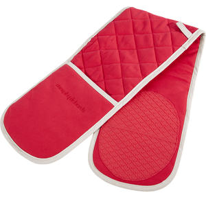Morphy Richards 973511 Double Oven Glove - Red - 18x88cm