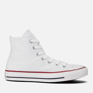 Converse All Star Canvas Hi-Top Trainers - Optical White