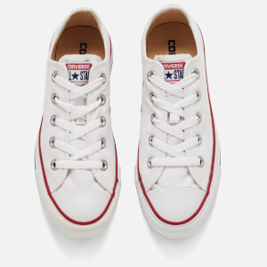 Converse Chuck Taylor All Star Ox Canvas Trainers - Optical White: Image 2