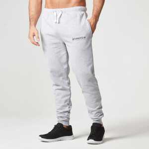Myprotein Slim Fit Sweatpants - Gråmeleret