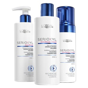 L'Oreal Professionnel Serioxyl Kit 2 For Coloured Thinning Hair (615ml)