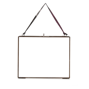 "Nkuku Kiko Glass Frame - Antique Copper - Landscape 8"" x 10"" (20 x 25cm)"