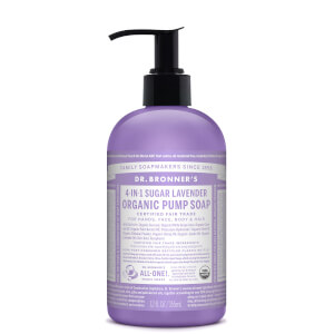 Dr Bronner's Organic Pump Soap Lavender 355ml