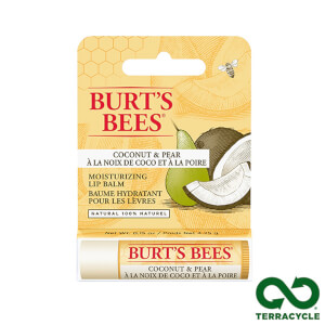 Burt's Bees 100% Natural Moisturising Lip Balm with Coconut and Pear: Image 3