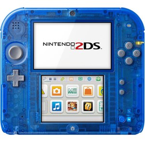 Nintendo 2DS Transparent Blue + Pokémon Alpha Sapphire: Image 4