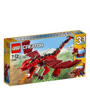 LEGO Creator: Red Creatures (31032)