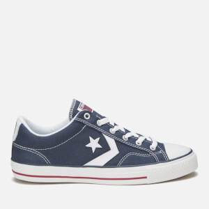Converse Men's Cons Star Player Canvas Trainers - Navy/White