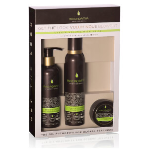 Macadamia Natural Oil 'Get the Look' Volumising Set