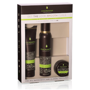 Macadamia Professional Natural Oil 'Get the Look' Smooth Curls Set