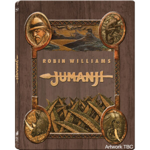 Jumanji Zavvi UK Exclusive Steelbook – Ultra Limited