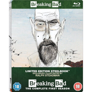 Breaking Bad: Season 1 -  Zavvi UK Exklusive Limitierte Steelbook Edition (Inklusive UltraViolet Copy)
