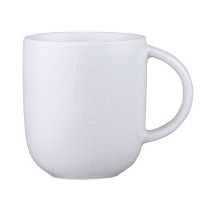 Jamie Oliver Mugs - White on White (Set of 6)
