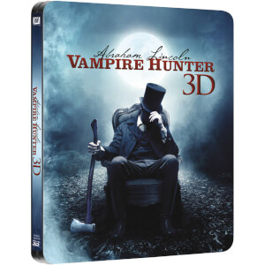 Abraham Lincoln Vampire Hunter 3D (Includes 2D Version) - Zavvi Exclusive Limited Edition Steelbook