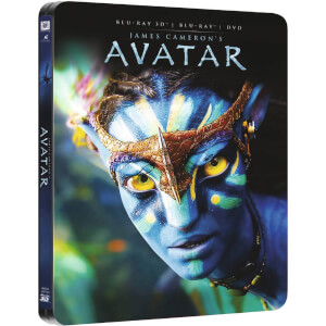 Avatar 3D (Includes 2D Version) - Zavvi UK Exclusive Limited Edition Steelbook