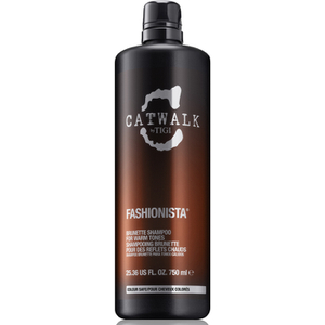 TIGI Catwalk Fashionista Brunette shampooing cheveux bruns (750ml)