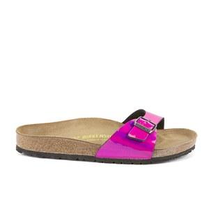 Birkenstock Women's Madrid Single Strap Metallic Sandals - Mirror Pink