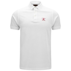 Barbour Heritage Men's Standards Polo Shirt - White