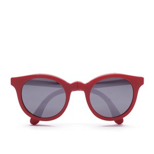 Sunpocket Samoa Shiny Red Sunglasses - Red