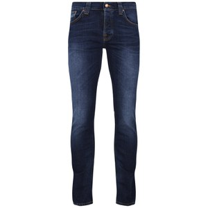 70a165030d3 Nudie Jeans Men s Grim Tim Straight Slim Jeans - Crosshatch Worn In - Free  UK Delivery over £50