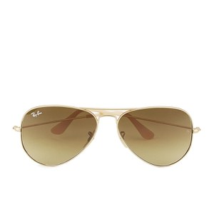 Ray-Ban Aviator Large Metal Sunglasses - Matte Gold - 58mm