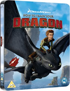 How to Train Your Dragon - Limited Edition Steelbook (UK EDITION)