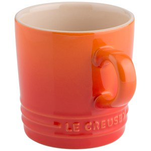 Le Creuset Stoneware Cappuccino Mug, 200ml - Volcanic