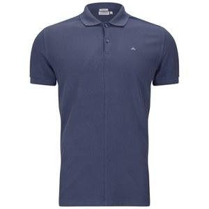 J.Lindeberg Men's Rubi Slim Fit Polo Shirt - Washed Blue