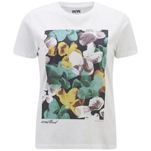 Wood Wood Women's Maddison T-Shirt - White Paint