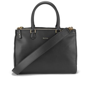 Paul Smith Accessories Double Zip Tote Bag - Black