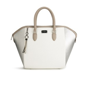 Paul's Boutique Women's Betsy Tote Bag - Metallic/Brushed Silver