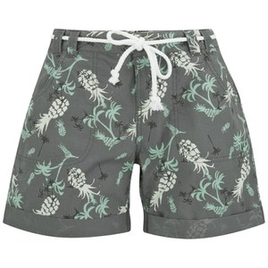 Animal Women's Gali Floral Walkshorts - Grey