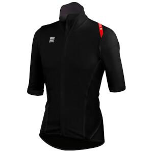 Sportful Fiandre Light NoRain Short Sleeve Jersey - Black/Red