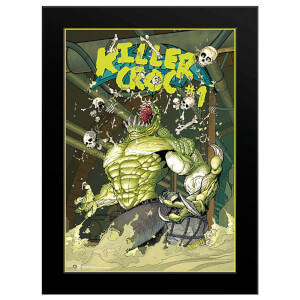 DC Comics Killer Croc Sewers - 16 x 12 Framed Photgraphic