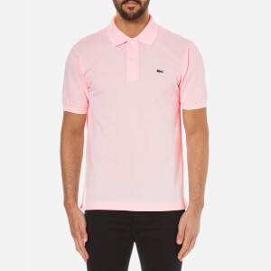 Lacoste Men's Polo Shirt - Flamingo
