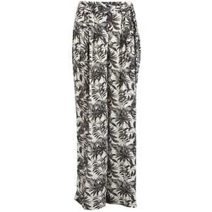 Vero Moda Women's Nia Beach Trousers - Snow White