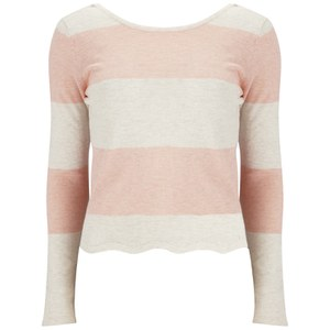 Vero Moda Women's Mirella Jumper - Tropical Peach